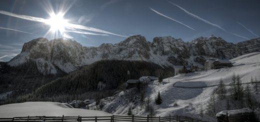 zima na selu
