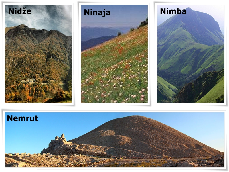planina na slovo n
